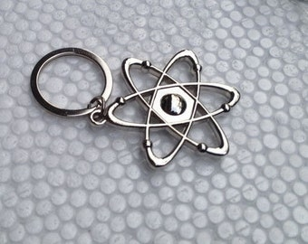 Science Symbol (Atom) Key chain