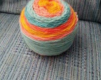 Crochet Octopus-Mango