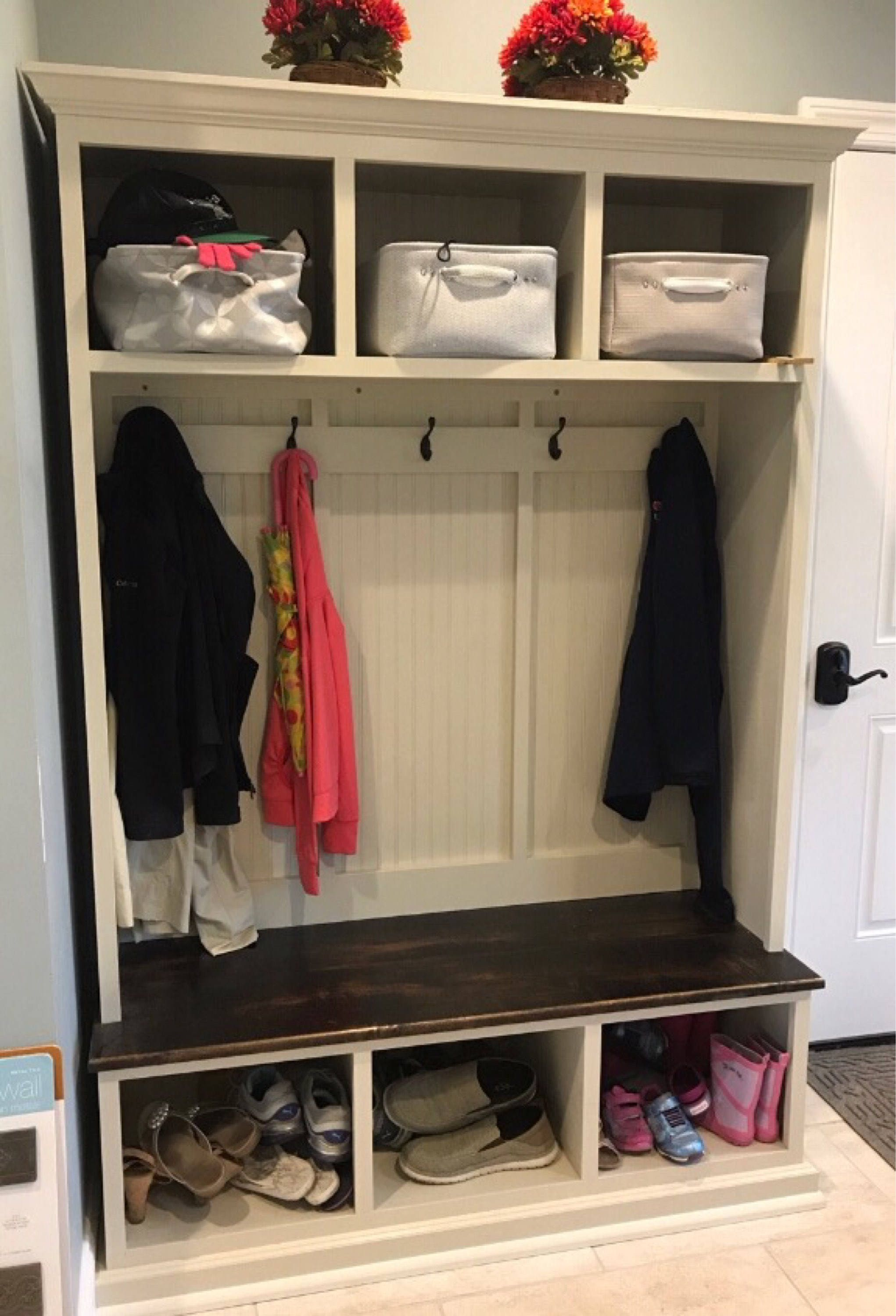 Entryway Bench With Storage Entryway