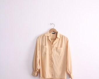 Butter Yellow 90s Femme Blouse