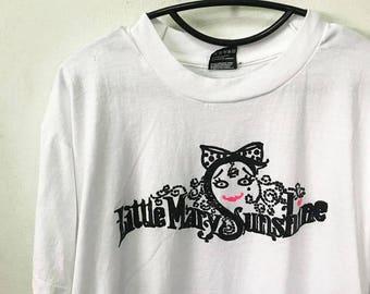 Vintage Little Mary Sunshine Shirt Size L Free Shipping 90s Little Mary Sunshine musical  Shirt  operettas Rick Besoyan