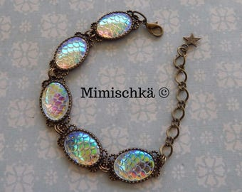 bracelet mermaid scale
