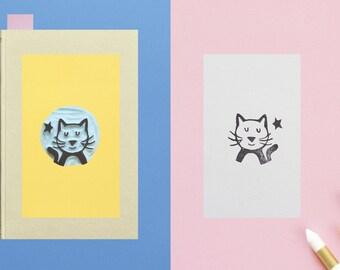 Bookplate Cat