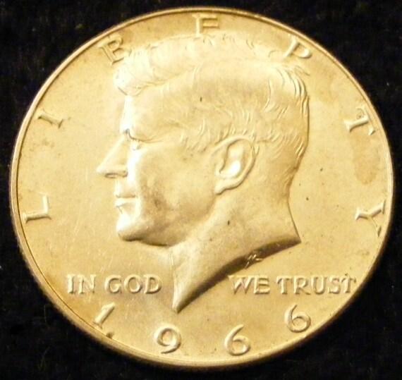 GREAT INVESTMENT . . . 1966 Kennedy Half Dollar