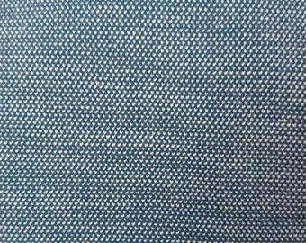 Blue stretch heavy knit