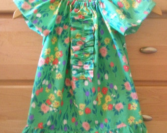 Childs summer garden tea party dress size 4t