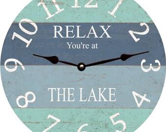 Lake Clock- Relax
