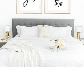 Love Print, Couple Print, Couple Bedroom, Romantic Prints, Me and You Print, Bedroom Decor, Bedroom Wall Decor, Bedroom Wall Art, Love Quote