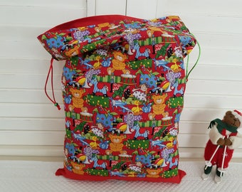 Vintage my little bag of Christmas Toys
