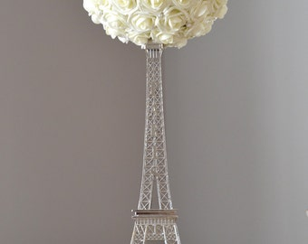 French themed party etsy eiffel tower centerpiece set parisians theme decor paris wedding decor french inspired centerpiece junglespirit Image collections