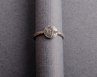 Dream Sterling Silver Stacking Ring