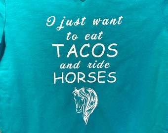 Tacos and horses