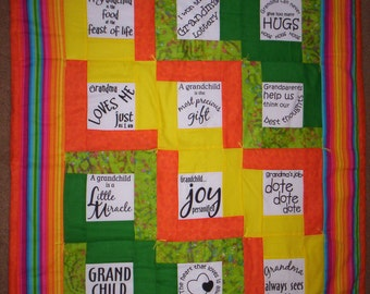 WALL HANGING for GRANDCHILD