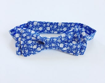 Wade Bow Tie - Blue Floral