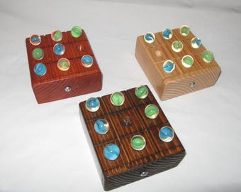 Vintage Tic Tac Toe Game Childrens Game Travel Game