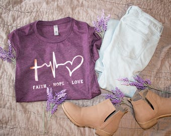 Faith. Hope. Love