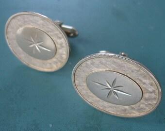 Star Burst Design Cufflinks
