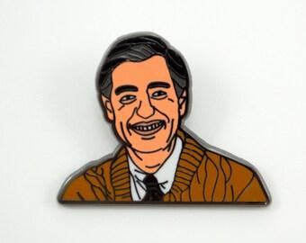 Mr. Rogers Enamel Pin