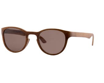 DANDY - modern wood sunglasses  (Wenge wood from Africa)