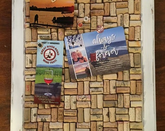 Set of 5 Wine Cork Bulletin Board Push Pins | Button Push Pins | Co-worker Gifts | Office Decor