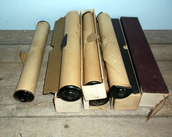 Vintage Player Piano Music Rolls Some in Boxes 8 in all
