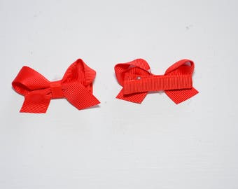 Cute Hair Bow with hair clips Size: 2.2 inch
