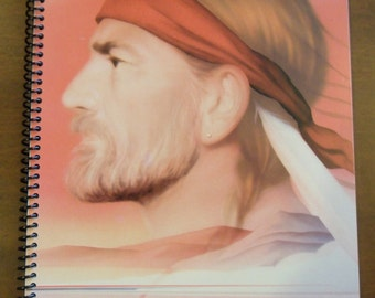 Willie Nelson 50 page notebook