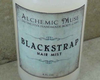 Blackstrap - Hair Mist - Detangler & Styling Primer - Brown Sugar, Coconut, Vanilla, Fig