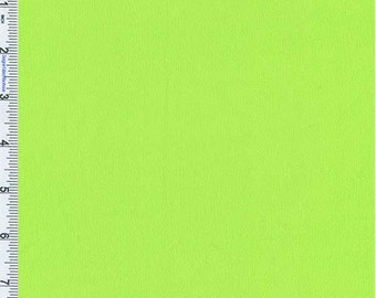 Acid Lime Crepe Weave Rayon, Fabric By The Yard