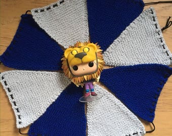 Ravenclaw Knitted Bunting (8 Pieces)