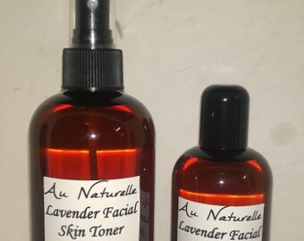 Lavender Facial Skin Toner   -    All Natural Skin Toner  -  Four Ounce Or Eight Ounce   - Natural SkinCare