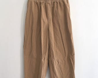 Vintage 90s 'Catalano' loose fit corduory pant