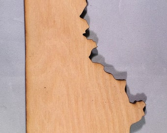 Ky Kentucky Wooden Cutouts - Shapes for Projects or Other Use