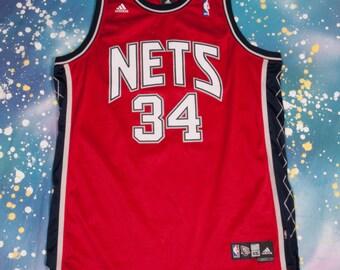 NETS #34 Harris Basketball Jersey Size  2XL