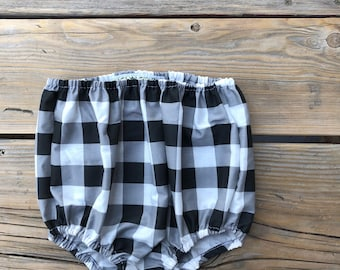 Summer baby clothes girl plaid one year old girl birthday outfit bloomer kids clothes boho baby girl clothes spring blomers baby girl boho