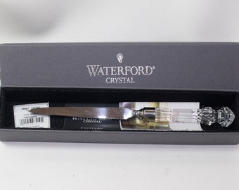 Waterford crystal Letter Opener with box, wrapped in Waterford paper, Made in Ireland