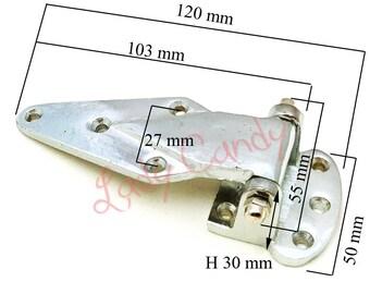 2 hinge cooler / butcher refrigerator Chrome Dresser sideboard / butcher /#120119 fridge