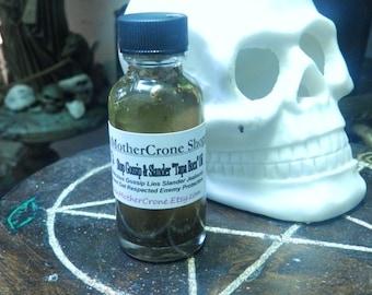 Stop Gossip Oil Wicca Pagan Spirituality Religion Ceremonies Hoodoo Metaphysical MaidenMotherCrone
