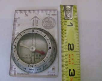 Boy Scouts Of America Silva System Compass