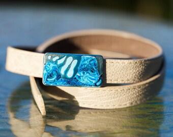 Handpainted buckle Vegan belt, Psychedelic belt, Painted Pewter buckle belt, Purple, Turquoise belt, colorful belts, Pop, Vegan, vegan gift