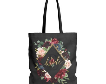 Bride Bag, Tote Bag, Bride Tote Bag, Bride Gift, Wedding, Wedding Tote, Bride, Wedding Tote Bag, Bridal Tote Bag, Bridal Shower Gift, Gift