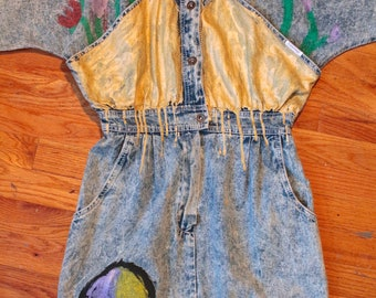 Denim Garden Dress