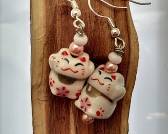 Little Neko/Cat Earrings
