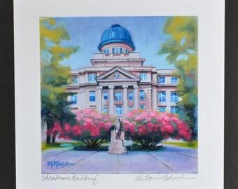 TEXAS A&M Print / College Art Print / Texas A and M Fine Art Print