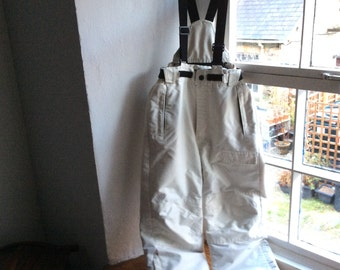 Vintage age 7/8 boardwear, padded trousers, board or ski, winter dungarees.