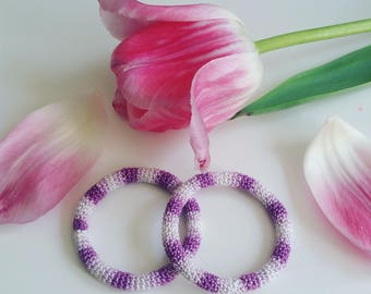Crochet Knit Hair Ties | Scrunchies Band Elastic Ponytail Holders