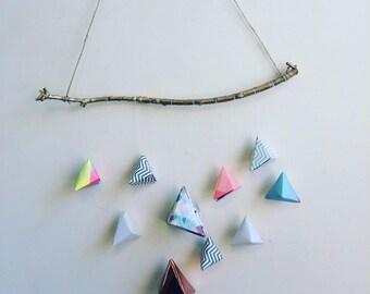 Origami Paper Mobile || Triangle