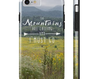 Smokey Mountains Phone Case, Blueridge Parkway, iPhone 8, iPhone 7, Galaxy S7 All US Phone cases
