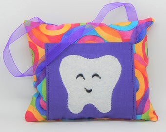 Geometric Circles Tooth Fairy Pillow