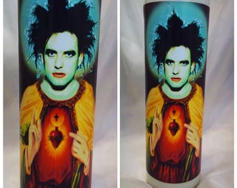 The Cure Saint Robert Smith Prayer Candle